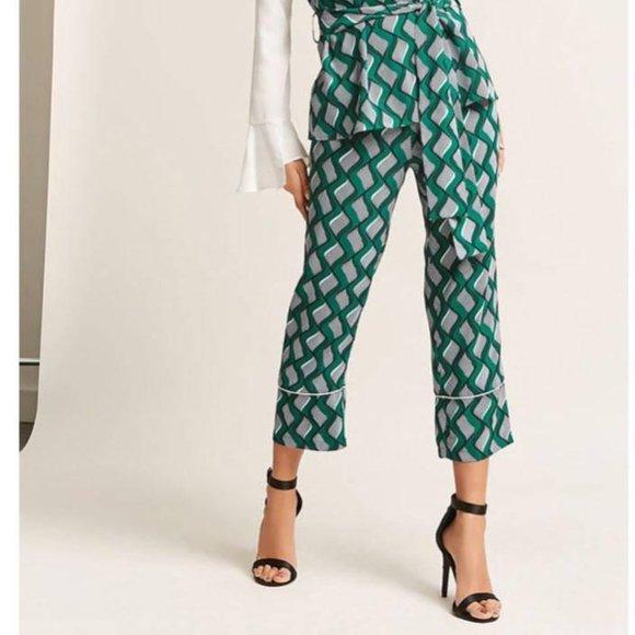 *SALE* Funky Print Ankle Pants NWT